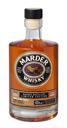 Marder Single Malt Whisky - LE 2018
