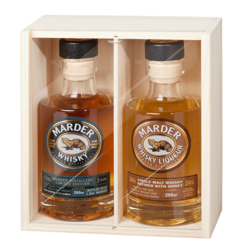 Marder Whisky + Whisky Liqueur